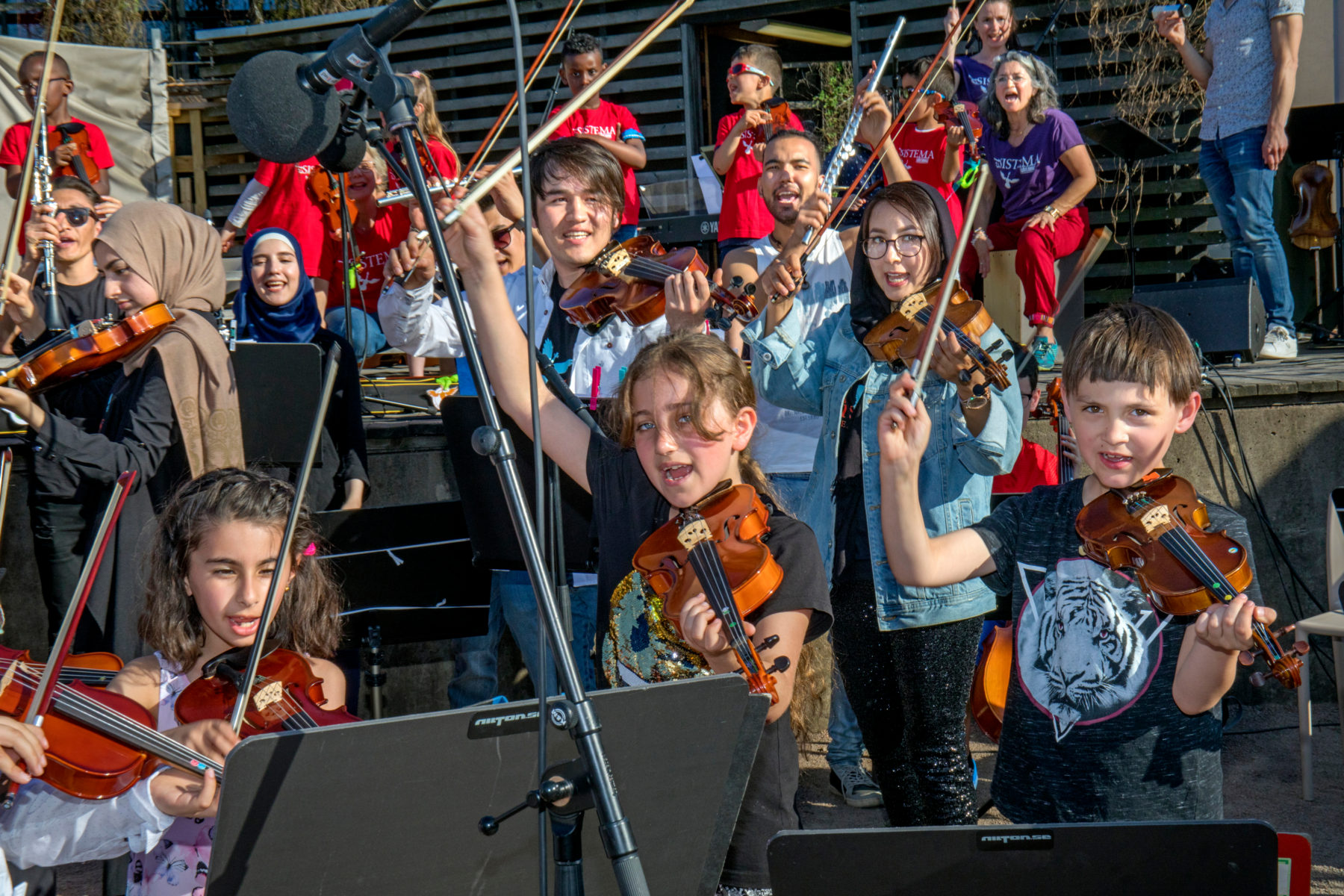 Photo: Lisa Thanner / El Sistema Foundation Sweden
